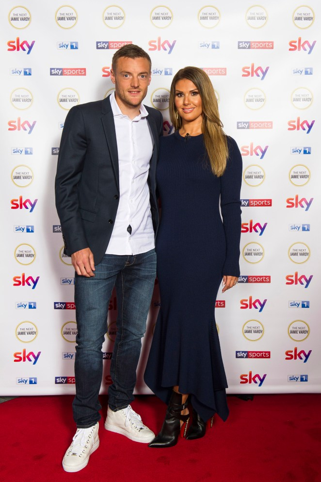 Becky, pictured with husband Jamie, has brought legal action against Coleen