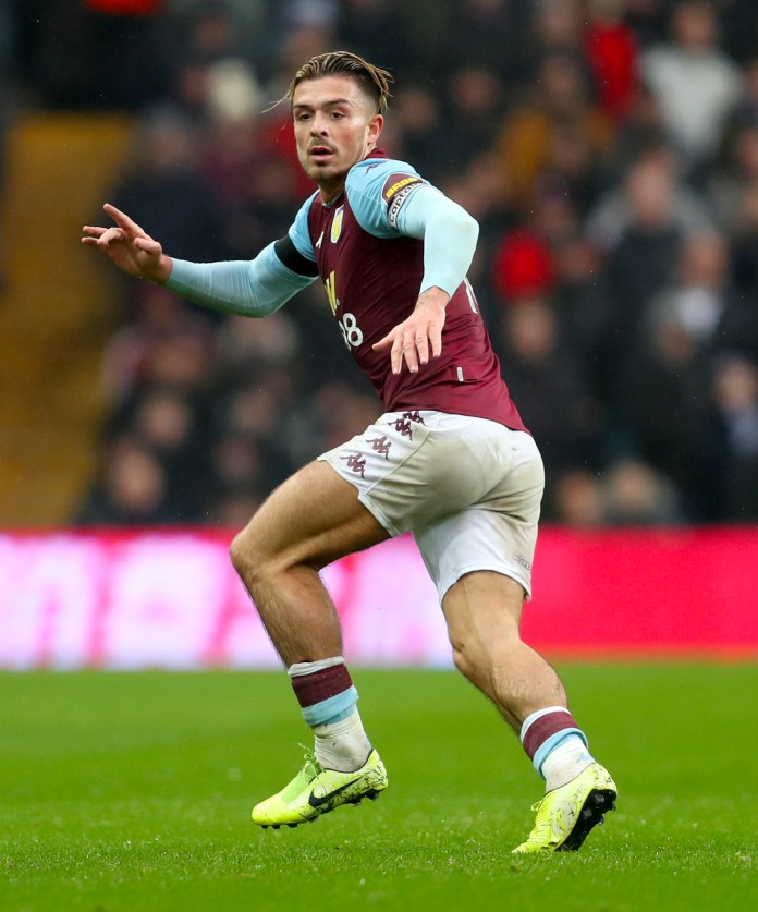 Jack Grealish could tell the difference between a Villa going up or down
