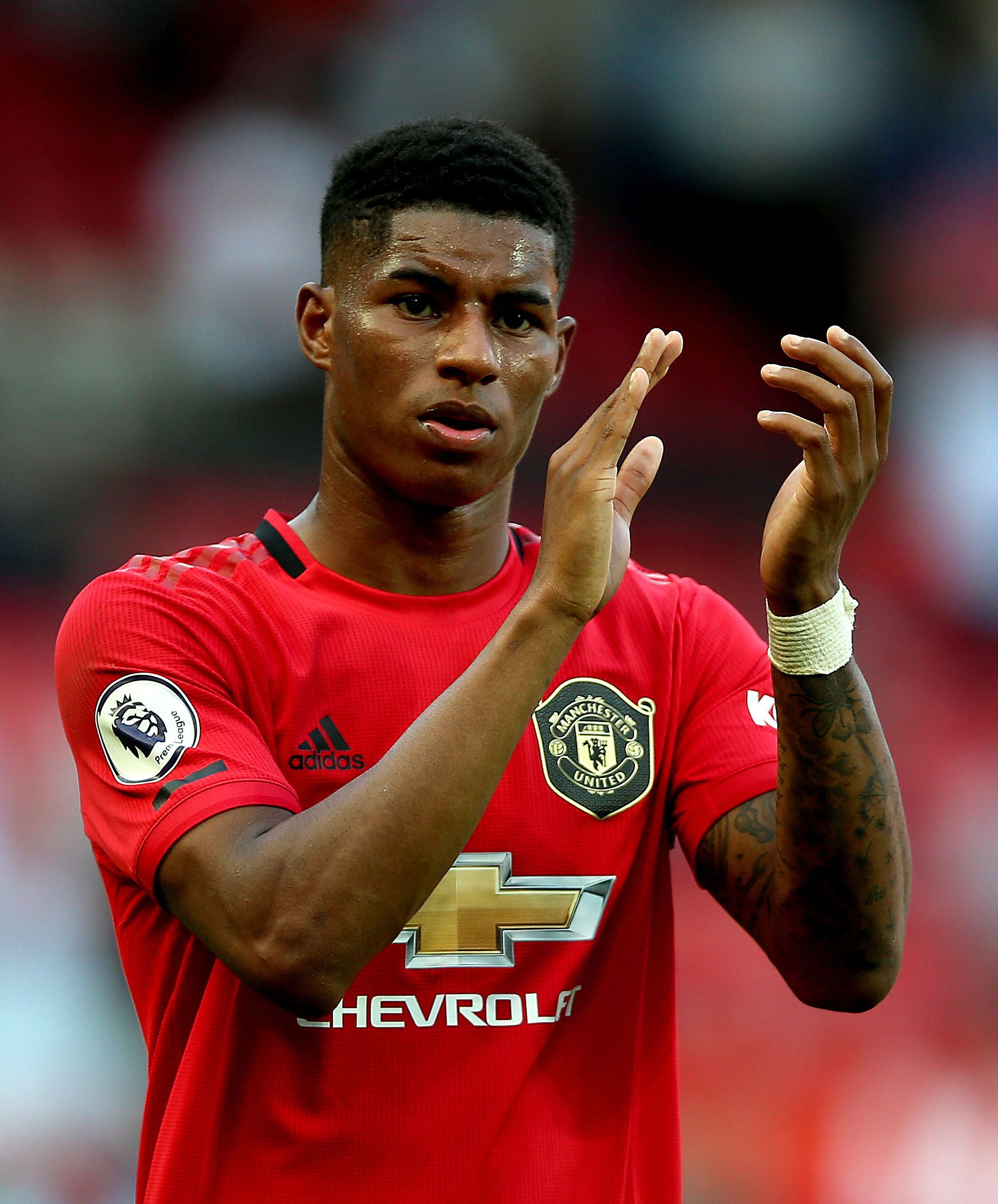 Marcus Rashford has led a campaign to continue free school meals over the holidays