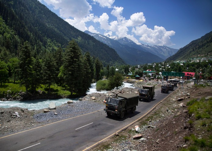 The China-India border dispute covers nearly 2,175 miles of frontier that the two countries call the Line of Actual Control
