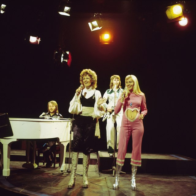 Abba perform 'Waterloo' on Top of The Pops