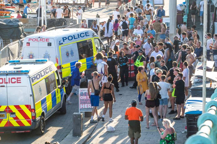 Brighton Beach police Thursday