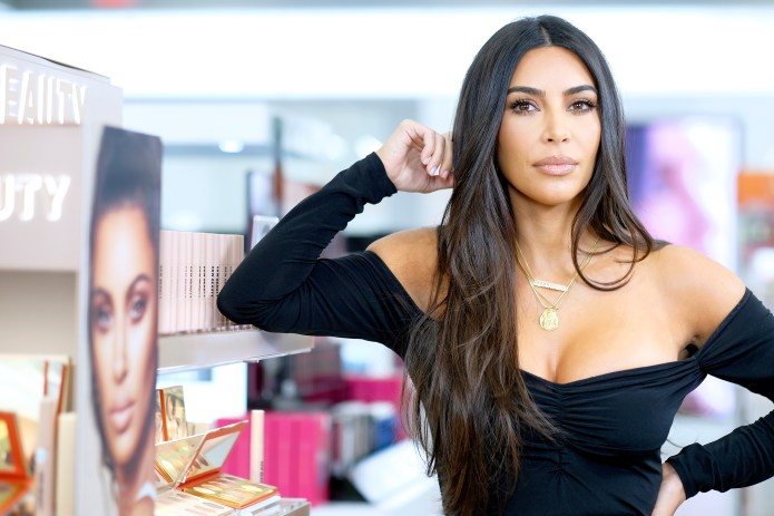 Kim sold KKW Beauty to Coti for around £200million