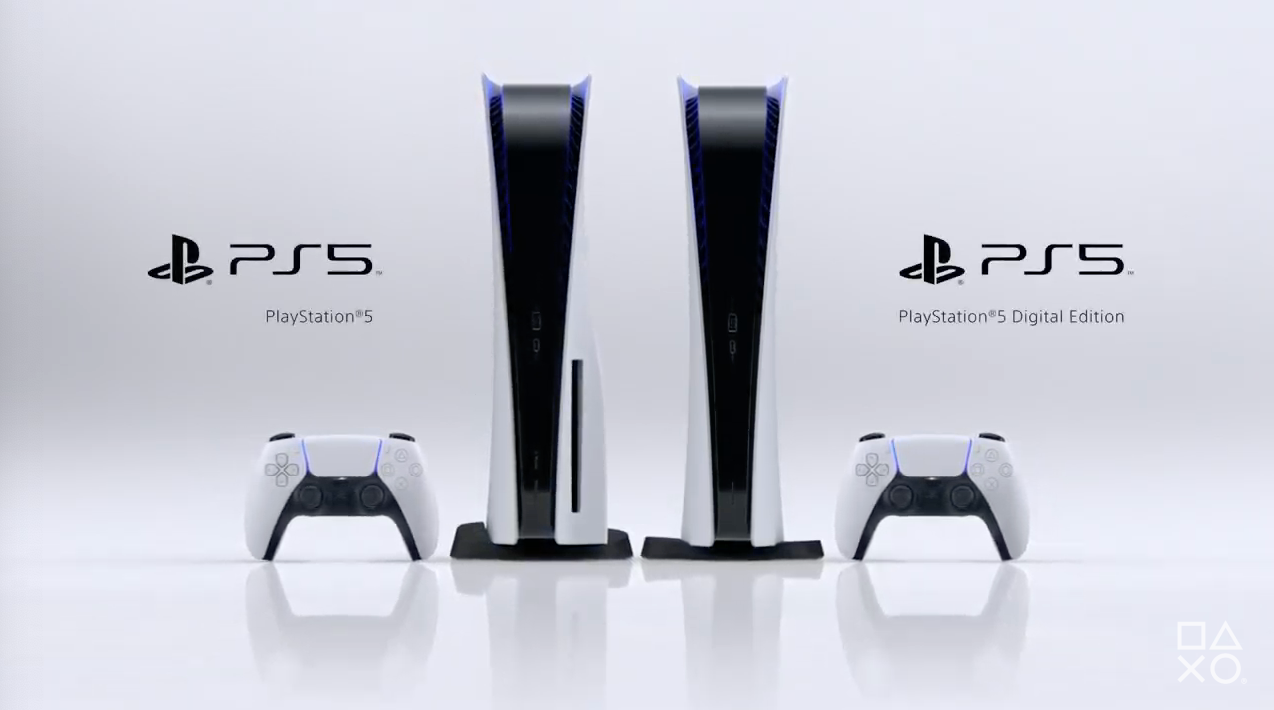 There are two versions of the new PS5