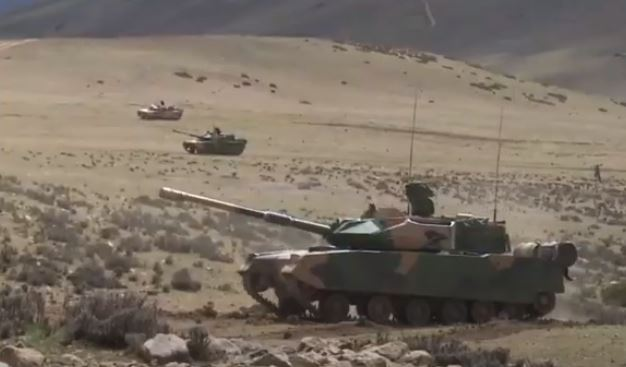 Chinese state television released footage of massive drilling exercise on Tibetan plateau