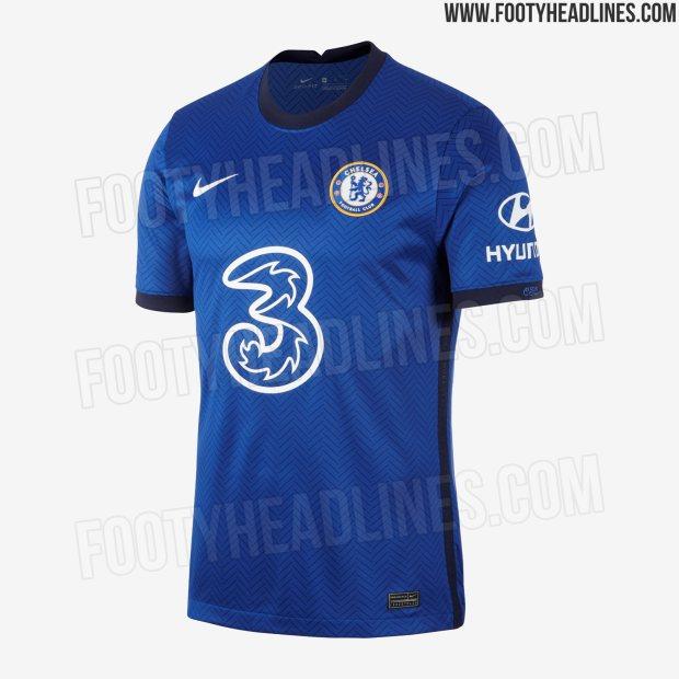 Nike Three Uk Unveil New Chelsea Home Kit For 2020 21 Season We