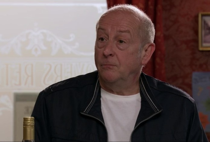 Geoff was asking questions about whether there were any guests in the B&B