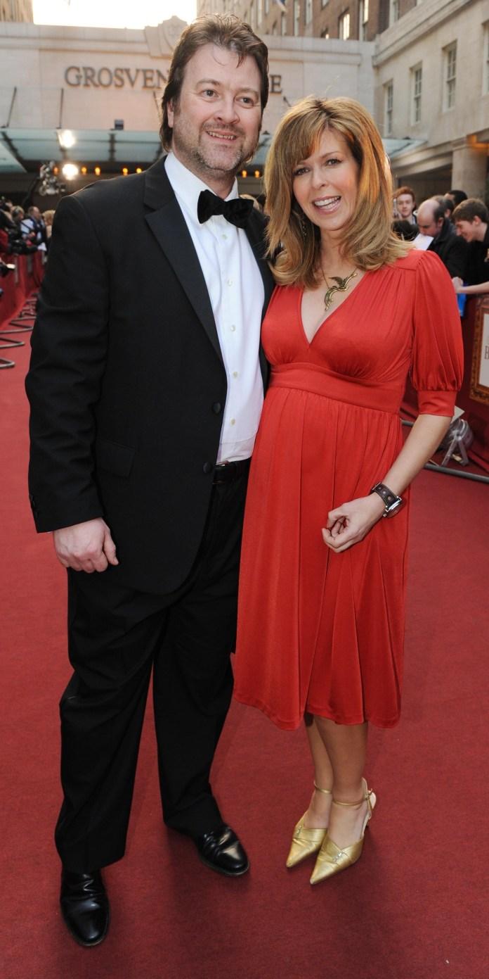 Kate Garraway explained that nurses had shaved Derek's beard