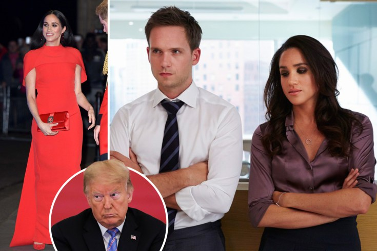 Meghan to take on presidency in film with 'political renegade' as main character