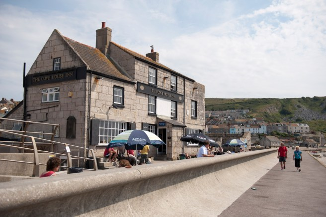 While being damaged in storms over the years, the pub still overlooks Chesil Beach from just a few steps over the road
