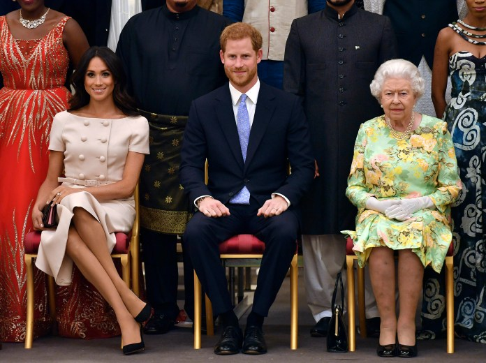 Meghan and Harry sat down to formalize Megxit at Sandringham