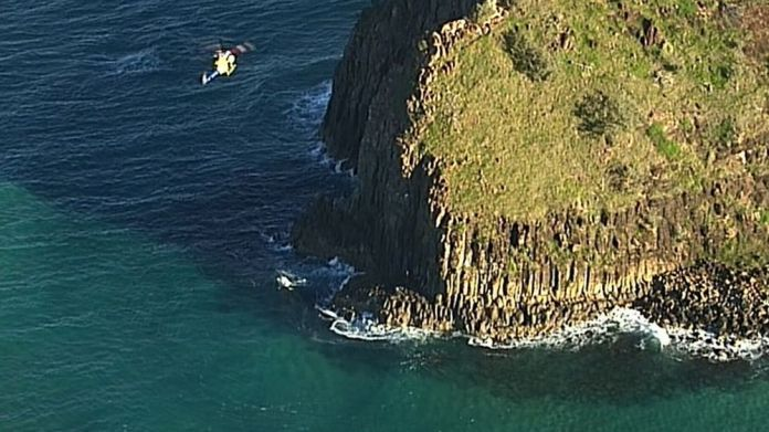Helicopter called to rescue diver