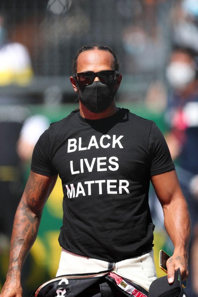 Lewis Hamilton slammed Bernie's recent comments on race