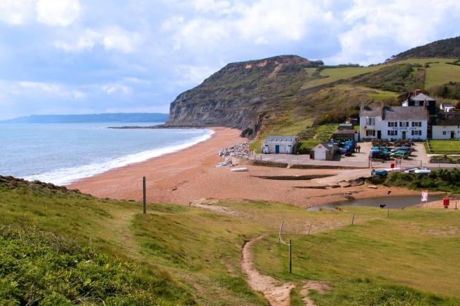 The Anchor Inn is found along the Jurassic Coast in Dorset
