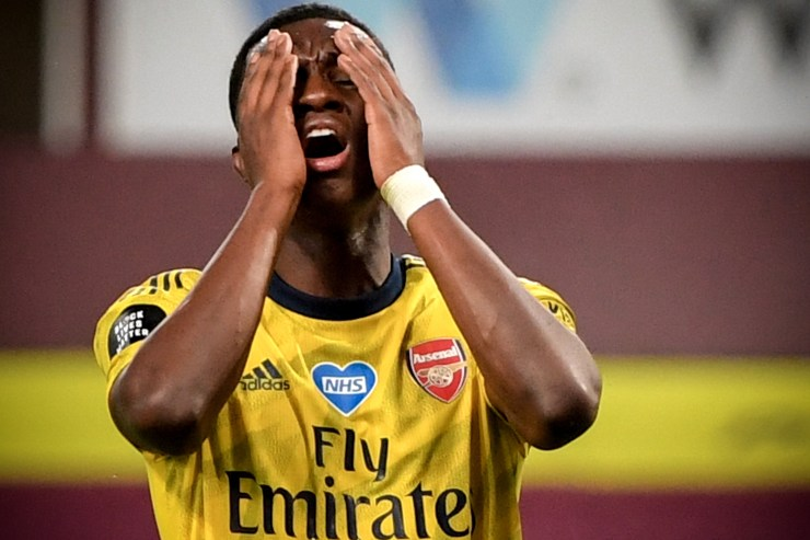 Nketiah was luckless against Villa - but we like the look of him to bounce back against Watford
