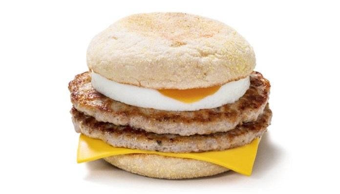 Classic McDonald's breakfast McMuffins are available until 11am