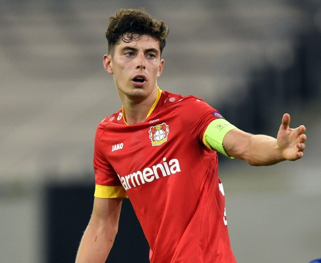 Kai Havertz has emerged as Chelsea's top summer tagret