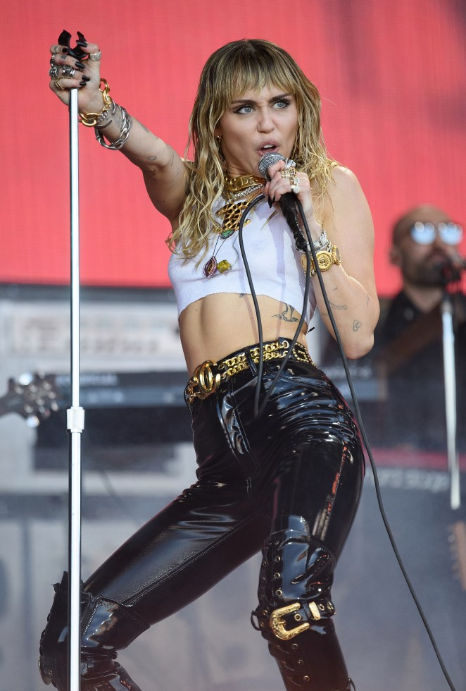 Miley Cyrus returned today with her first single in a year Midnight Sky