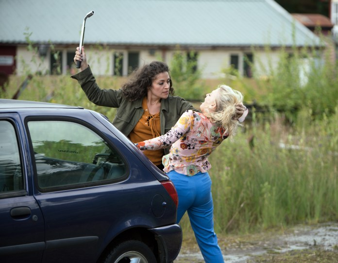 Sonia played Mel Maguire, who kidnapped Bethany Platt to prevent her from testifying against vile groomer Nathan Curtis
