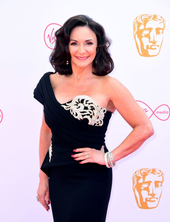 Shirley at last year's TV BAFTAs