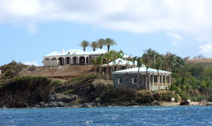 There has been claims orgies took place on Epstein's private island
