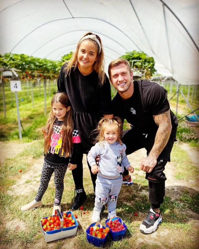 She shares two daughters with husband Dan Osborne