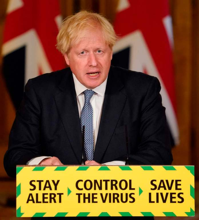 Boris Johnson is also reportedly considering busting the