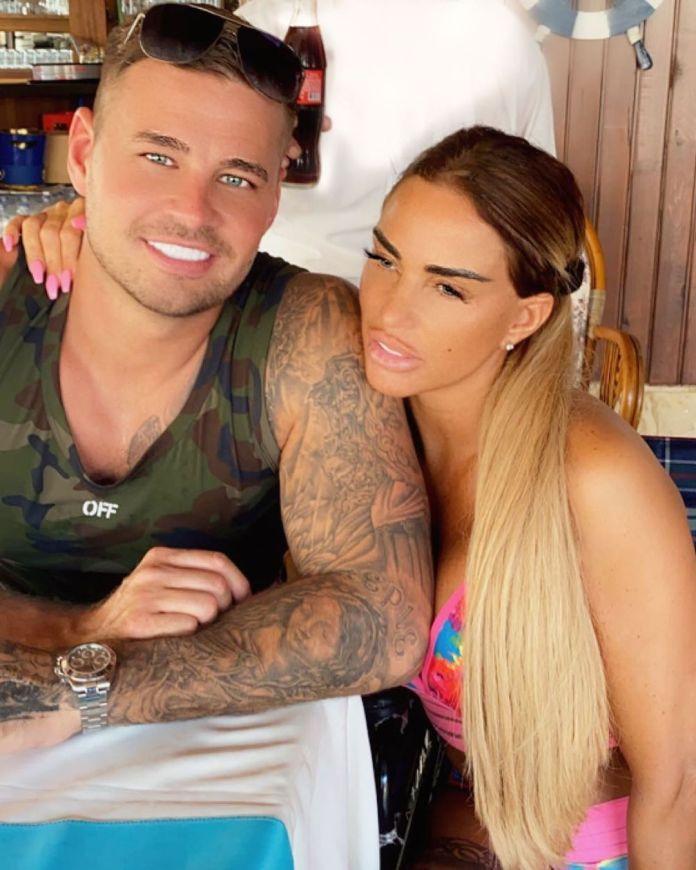 Katie with her boyfriend Carl