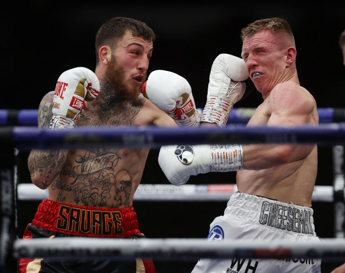 Sam Egginton and Ted Cheeseman put on a big show in the main event