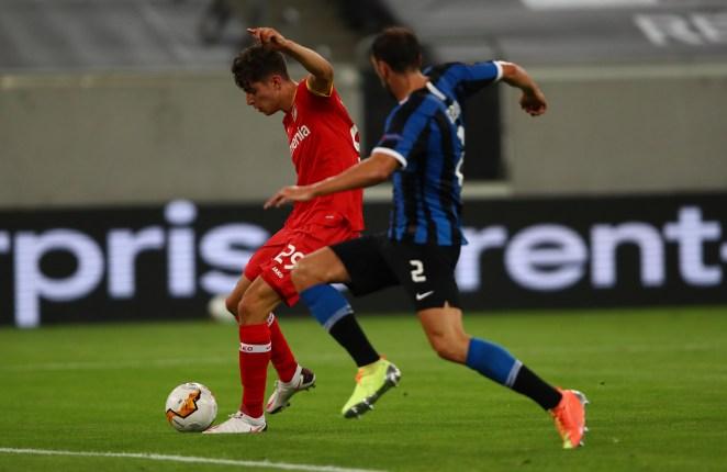 Kai Havertz scored in vain as Leverkusen were beaten by Inter