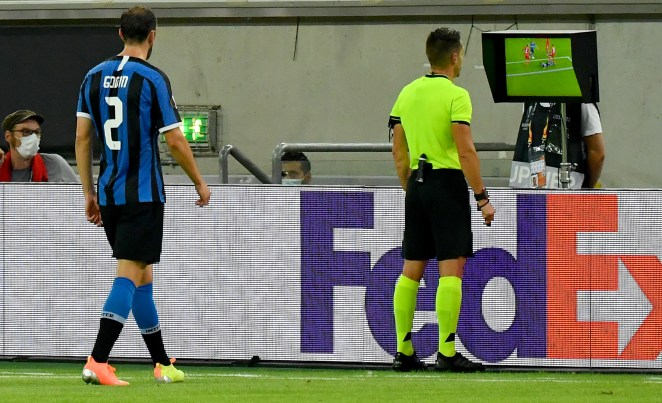 Inter Milan had two penalties awarded - both of which were overruled by VAR