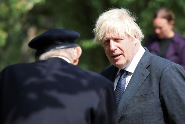 Boris Johnson said 'their immeasurable sacrifice changed the course of history'