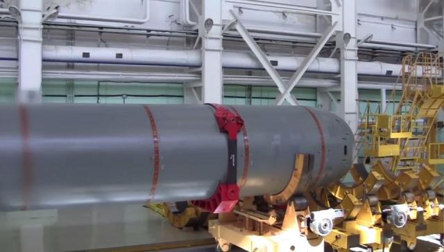 The Poseidon underwater nuclear drone is nearing completion
