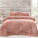 Move Over Teddy Fleece People Are Going Wild For A Shaggy Faux Fur Bedding Set From B M
