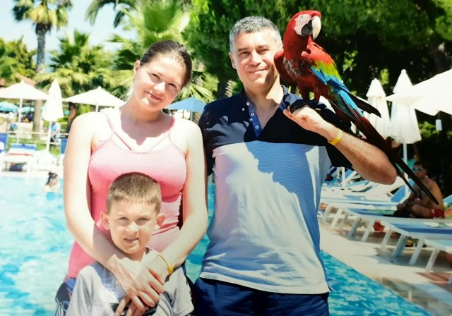 Mehmet described their seven-year-old son as 'talented' and 'good-natured'