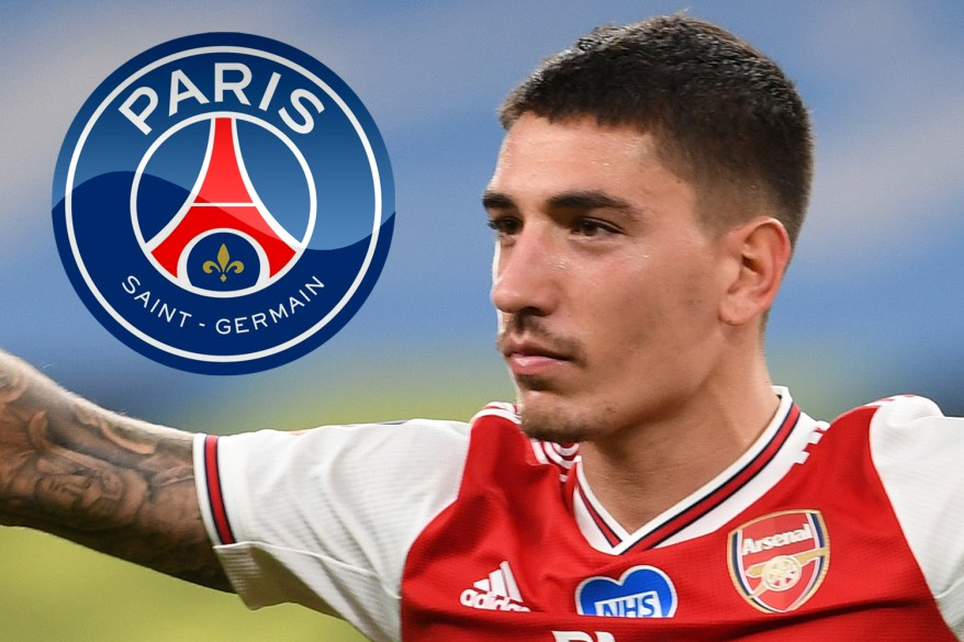 Arsenal star Hector Bellerin offered to PSG as beaten finalists chase right-back