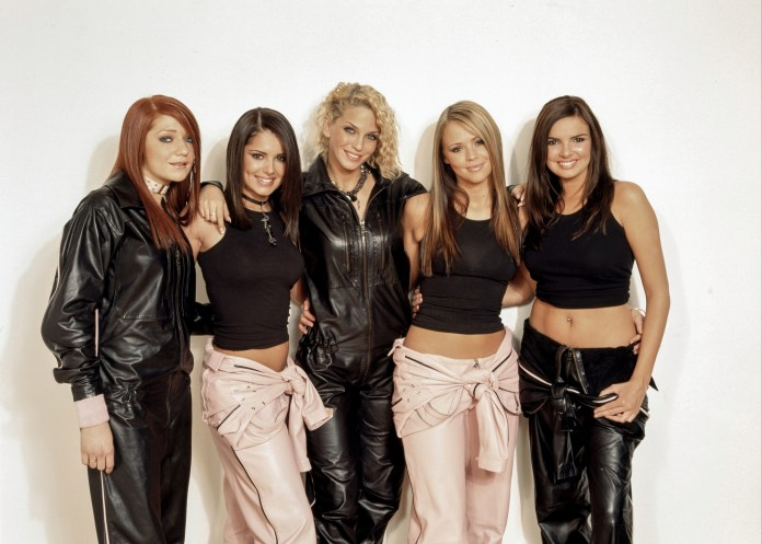 Girls Aloud were reunited in 2002