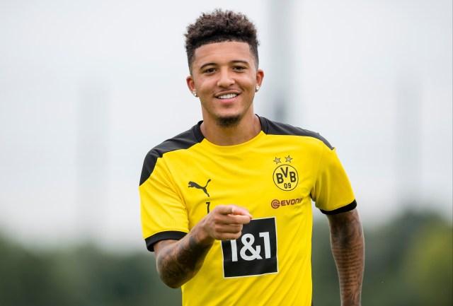 United could return for Dortmund ace Sancho next summer