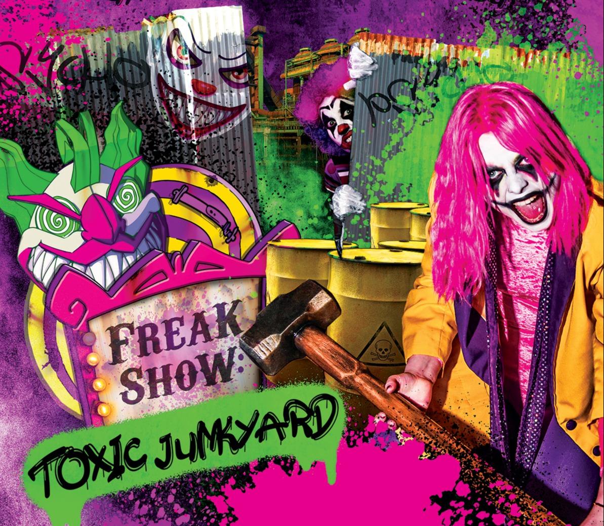 Alton Towers has announced their new Scarefest attraction - Freak Show: Toxic Junkyard