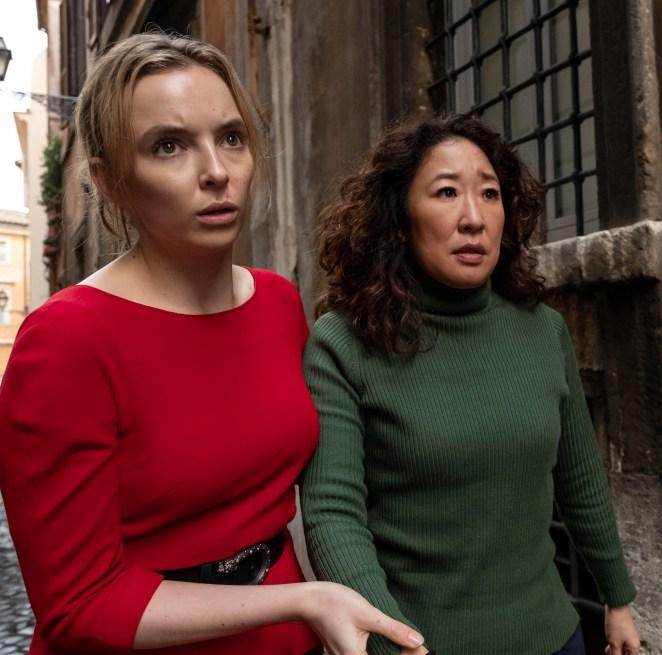 Production of season 4 of Killing Eve is on hiatus due to the coronavirus pandemic