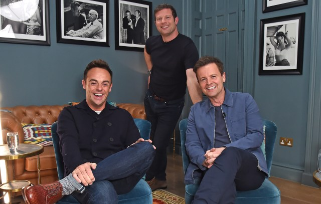 Ant and Dec joined Dermot O'Leary to talk about their new book Once Upon A Tyne