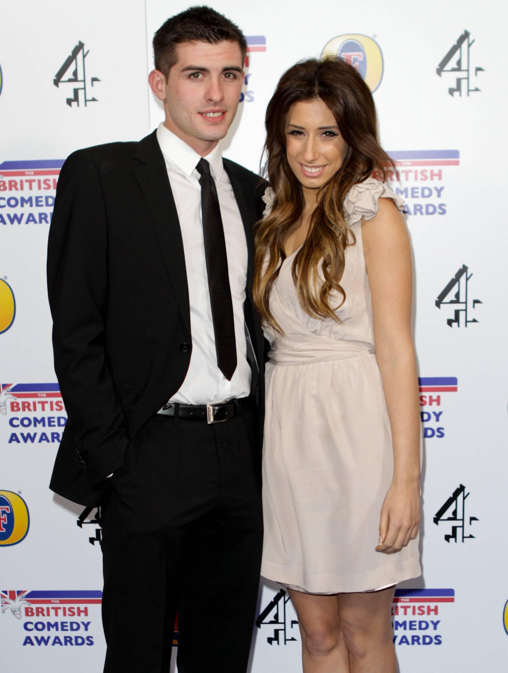 Stacey และอดีต Aaron Barham - พ่อของ Leighton