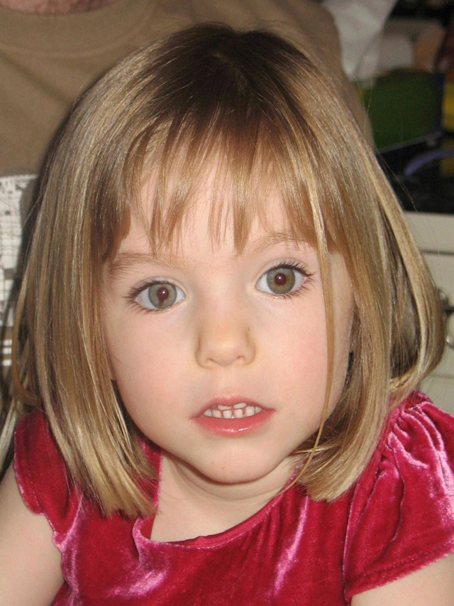 Madeleine McCann vanished while on holiday in Portugal in 2007