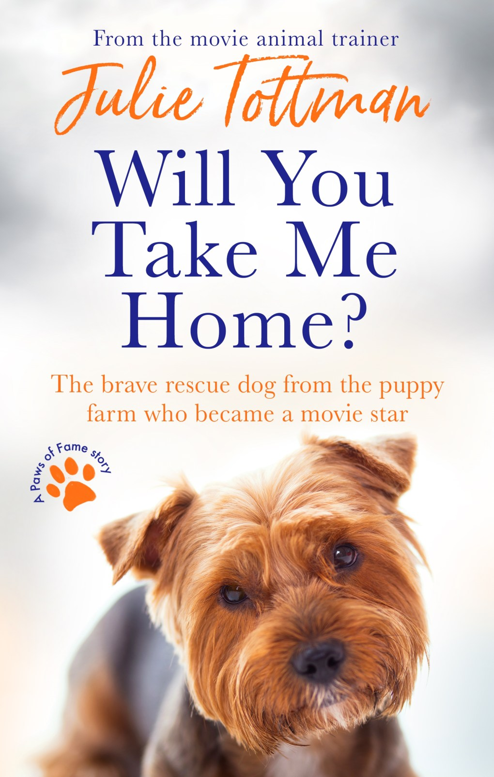 'Are you going to take me home?'  by Julie Tottman is out now for £ 7.99