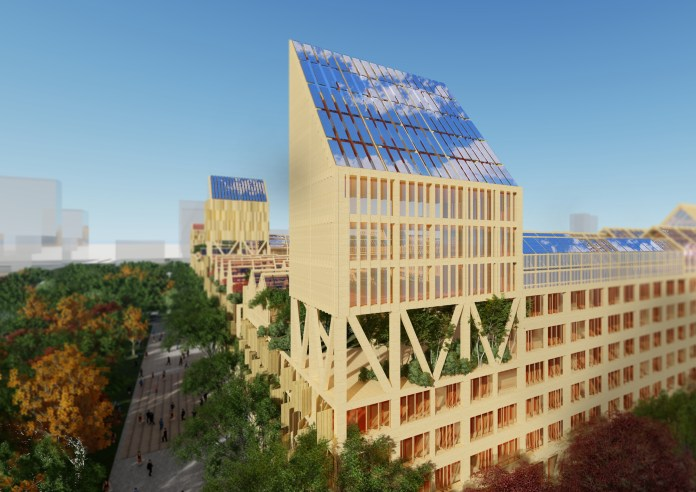 Barcelona-based Guallart Architects won the contest to design the project