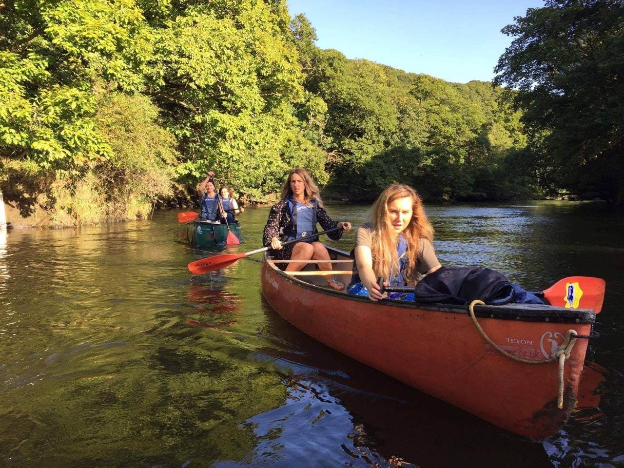 Go canoeing on the river Teifi and see if you can spot otters, red kites, salmon, kingfishers and even red deer