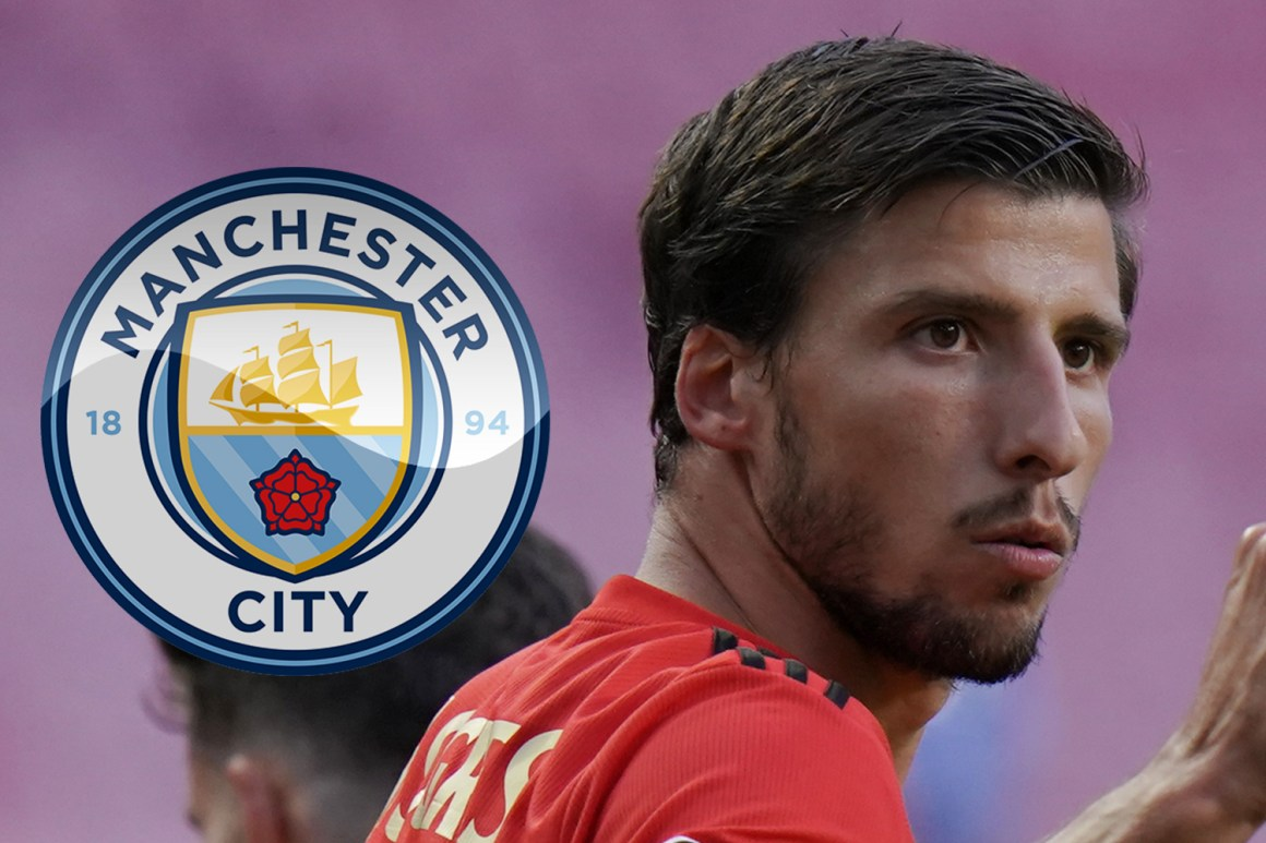 Man City set to complete £64m transfer of Ruben Dias from Benfica as Pep Guardiola looks to solve defensive woes
