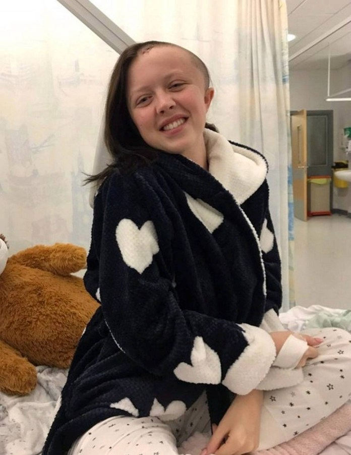 Doctors discovered Jade had an arteriovenous malformation (AVM) - an abnormal tangle of blood vessels - which had ruptured and caused a bleed on her brain