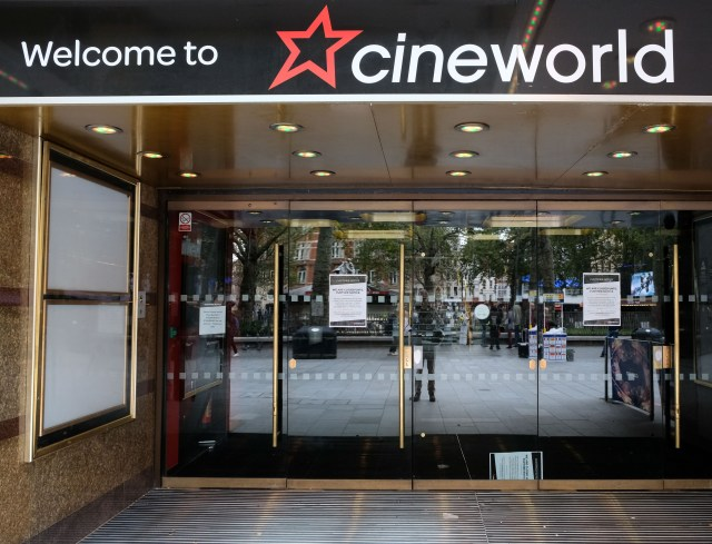 Cash-strapped cinemas will be given a lifeline