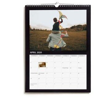 Normally the price for a wall calendar starts at £17.99
